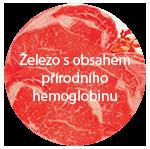 Železo s obsahem přírodního hemoglobinu
